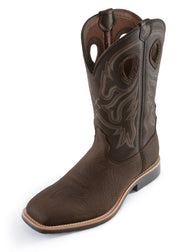 Twisted X Mens Top Hand Boot - Taupe/Brown