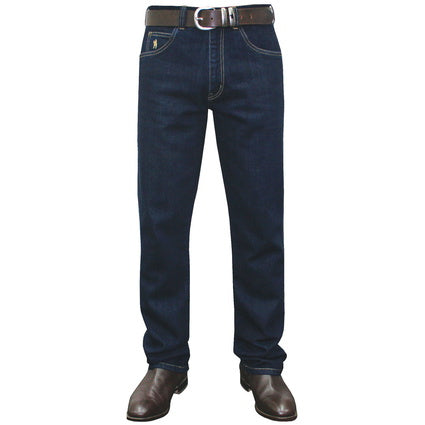 Thomas Cook Mens Stretch Jean - Washed Indigo