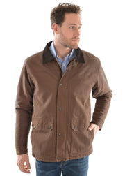 Thomas Cook Mens Canvas Jacket - Dark Tan