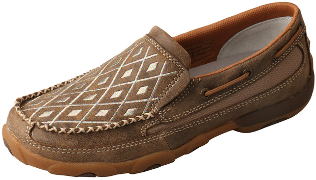 Twisted X Ladies Diamond Slip On Mocs