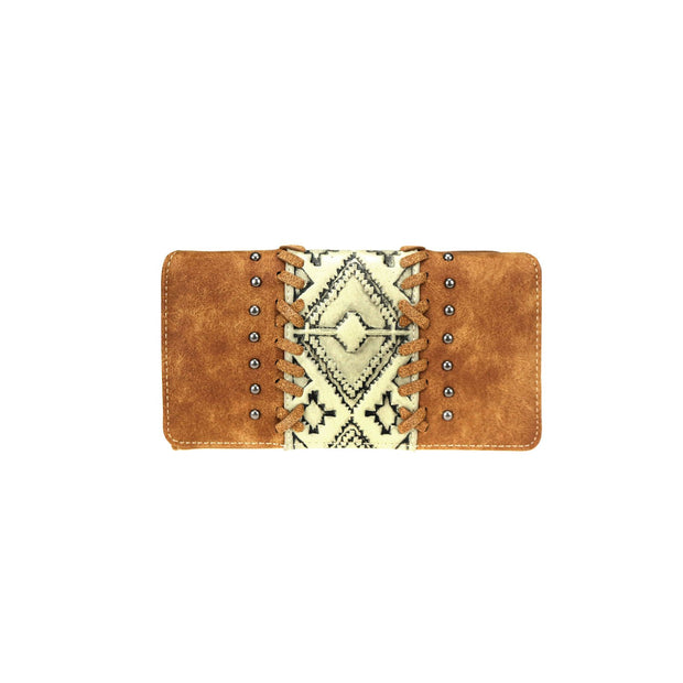 Trinity Ranch Embossed Collection Secretary Style Wallet