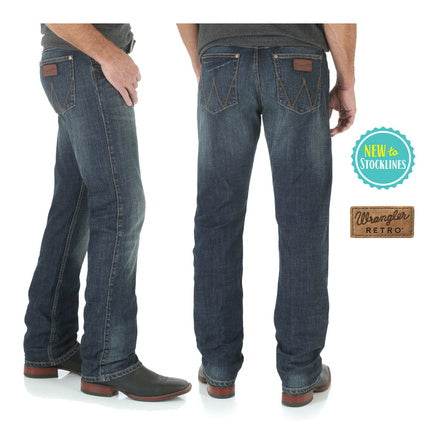 Wrangler Retro Slim Straight Mens Jeans