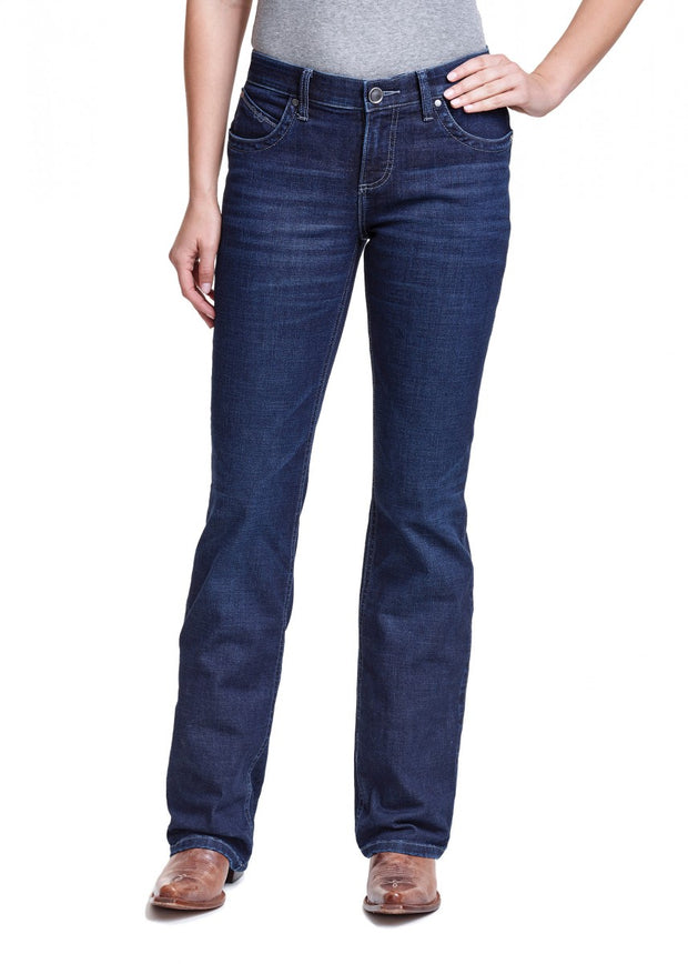 Wrangler Ladies Ultimate Riding Jean - Q Baby - Boot Scootin