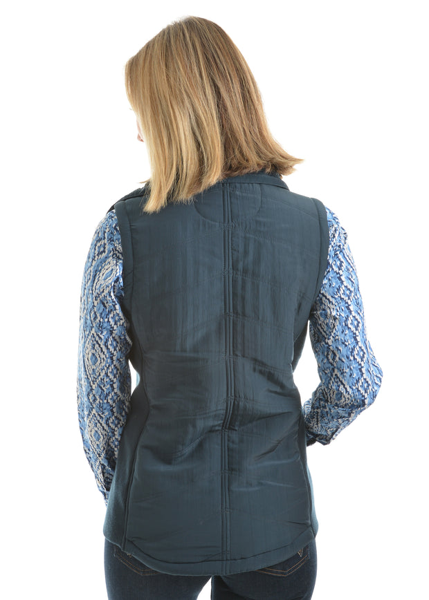 Wrangler Ladies Addilyn Vest - Midnight - On Sale