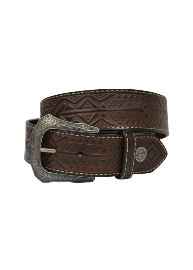 Wrangler Ladies Arrow Belt - Dark Tan/Coffee