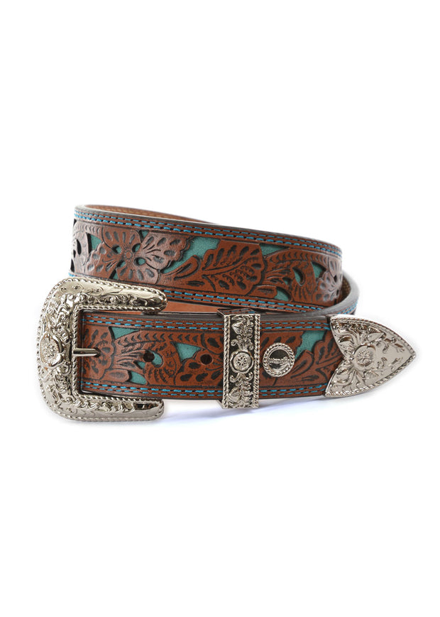 Wrangler Women's Moree Belt - Chestnut