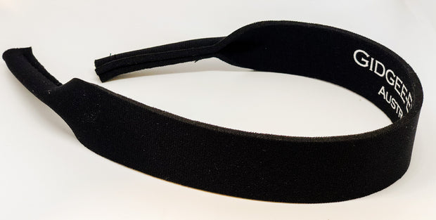 Gidgee Eyes Sunglass Strap- Black