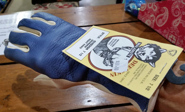 Western Quality Glove - Deerskin Right Hand