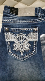 Grace in LA Ladies Bling Jeans