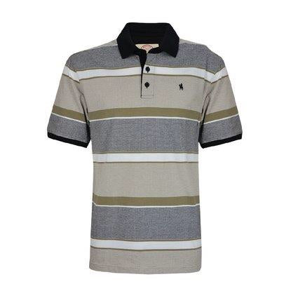 Thomas Cook Mens Warrnambool Stripe S/S Polo