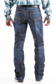 Cinch Mens Ian Slim Fit May Dark Stonewash Jeans