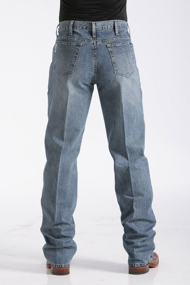 Cinch Mens White Label Jeans - Medium Stonewash