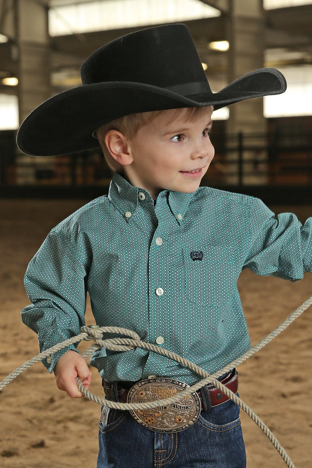 Cinch Boys L/S Chad Baby and Toddler Shirt