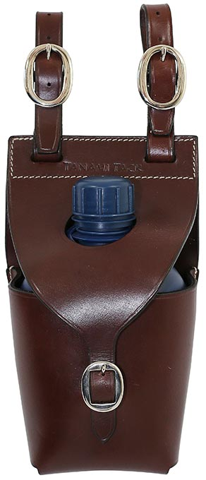 Tanami Leather Single Water Bottle Carrier