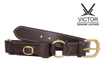 Victor Double Ring Hobble Belt with Pouch