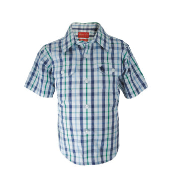 Thomas Cook Boys Mark Check S/S Shirt - ON SALE