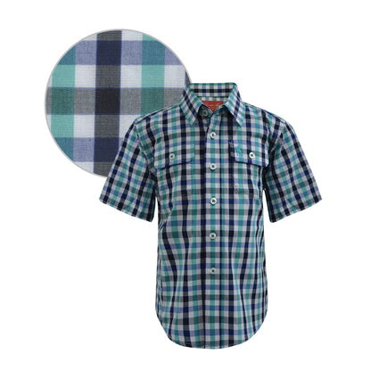 Thomas Cook Boys Mulgowie Check 2-Pkt S/S Shirt