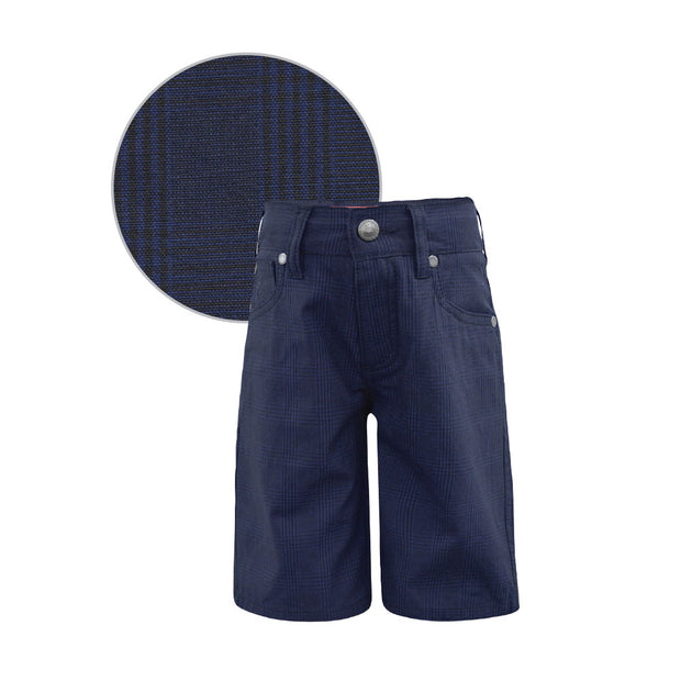 Thomas Cook Boys Rothbury Check Comfort Waist Shorts - ON SALE