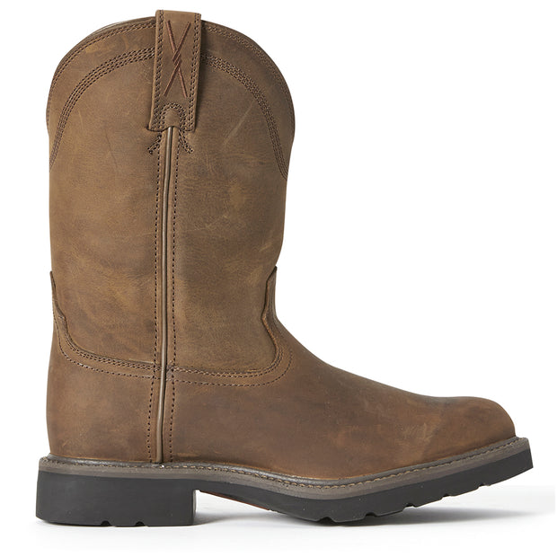 Twisted X Mens Mens Work Pull On Boots