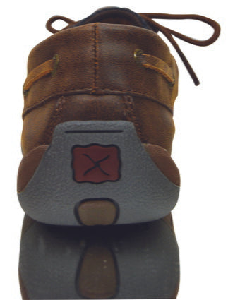Twisted X Ladies Casual Driving Brown/ Serape Moc - ON SALE