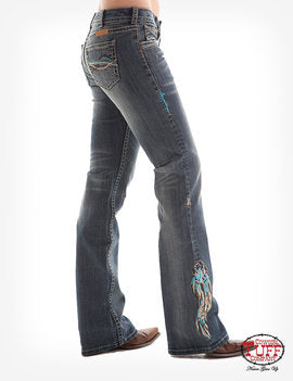 Cowgirl Tuff Ladies Jeans - Dreamcatcher