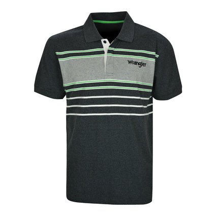 Wrangler Mens Bourke S/S Polo