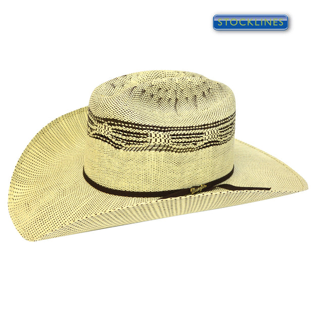 Wrangler Sturt Hat - Cream/Brown