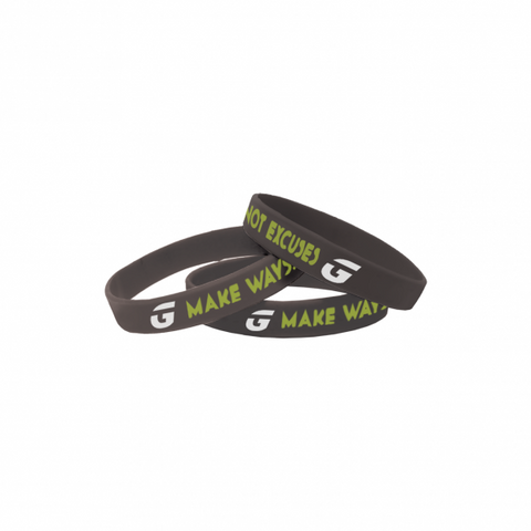MWNE Black Wristband