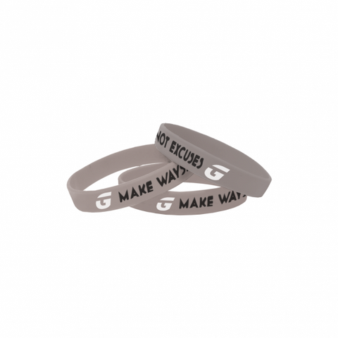 "GRiNDTime ""MWNE"" Silver Wristband"