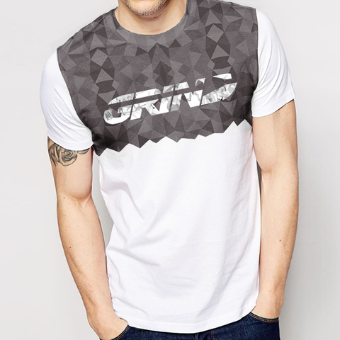 "Men's Kaleidoscope ""GRiND"" Sublimation Tee*"