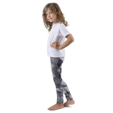 "Girls' ""GRiND"" Grey Kaleidoscope Leggings"