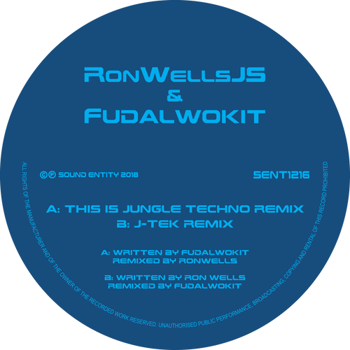 Ron Wells & Fudalwokit - This is Jungle Techno (Remix) / J-TEK (Remix)