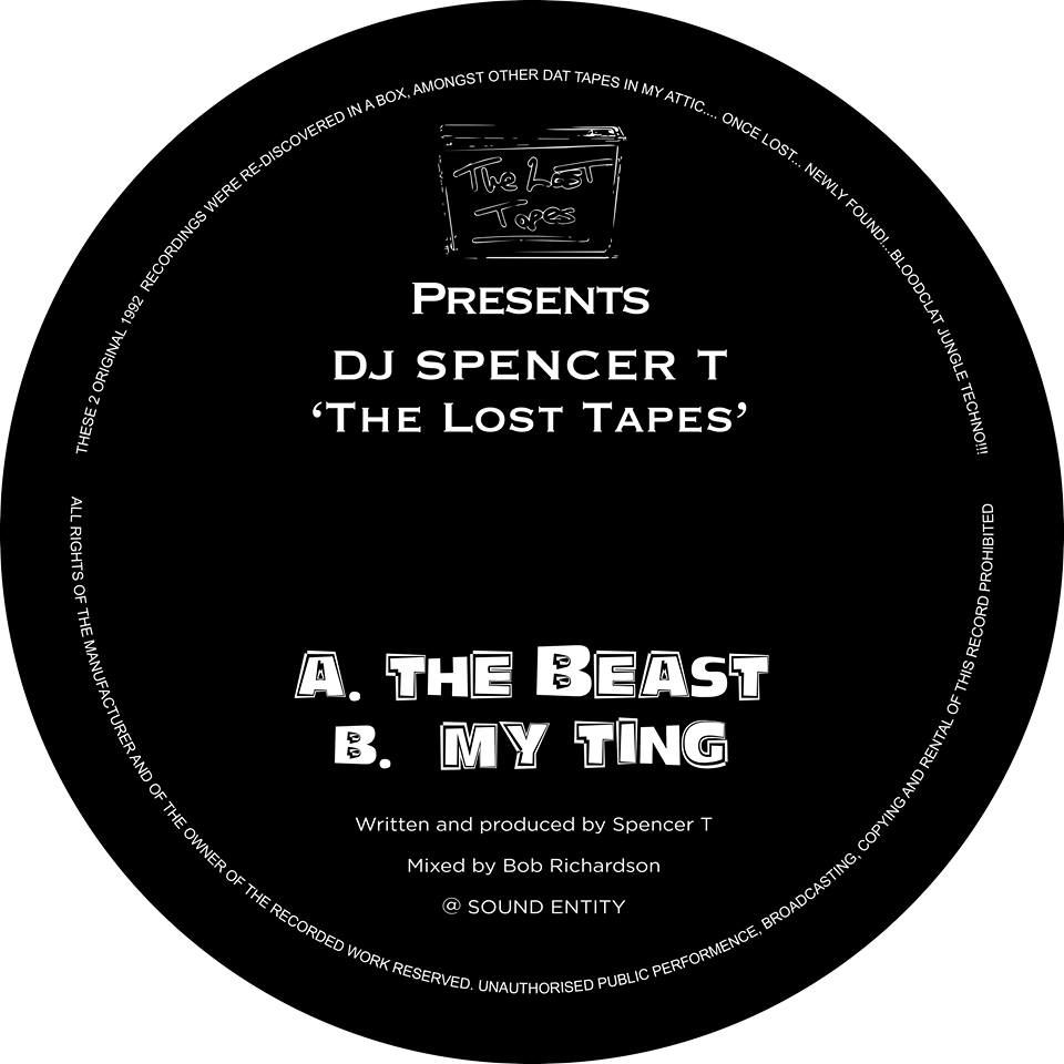 Spencer T - The Lost Tapes (Pre Order 12