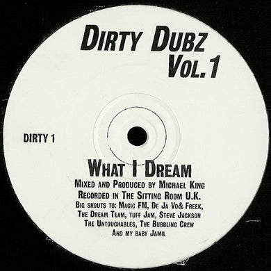 Michael King ‎– Dirty Dubz Vol.1 (Pre Order 12