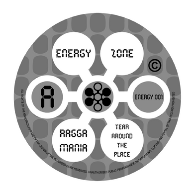 ENERGY ZONE - RAVEOLOGY EP LIMITED EDITION 12