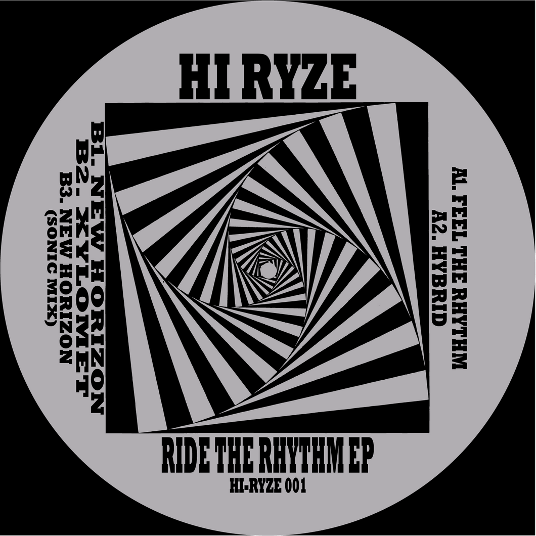 HI RYZE - Ride The Rhythm EP (Ltd Edition 12