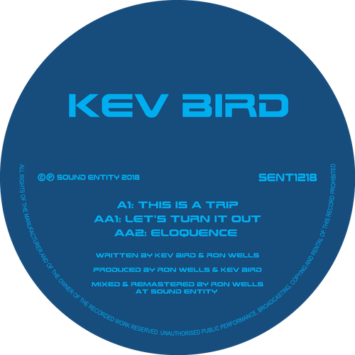 Kev Bird - This Is A Trip (SENT 1218) (Pre Order Vinyl 12