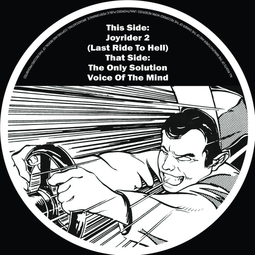 The Criminal Minds - Last Ride To Hell (Crowd Funded Pre Order 12 Vinyl EP)
