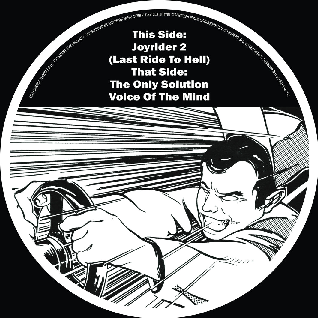 The Criminal Minds - Last Ride To Hell (Pre Order 12 Vinyl EP)