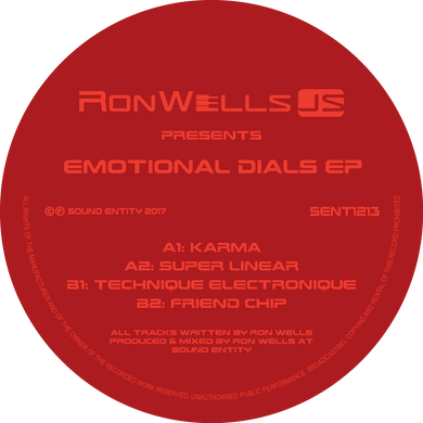 RonWellsJS - Emotional Dials EP (Bespoke Made To Order 12