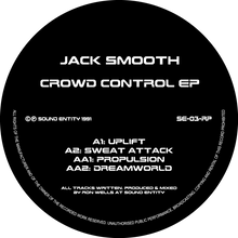 "Jack Smooth - Crowd Control EP (12"" Vinyl EP)"