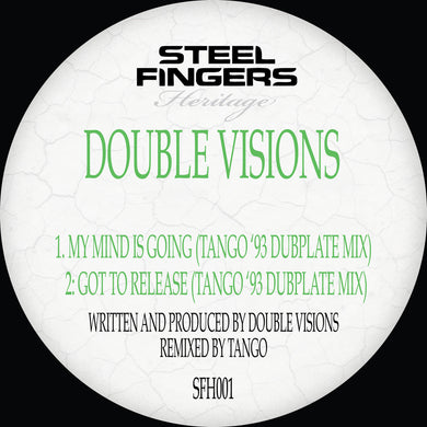 SFH001 Double Visions ('93 Dubplate Mixes) REPRESS RUN (Bespoke Made To Order 12