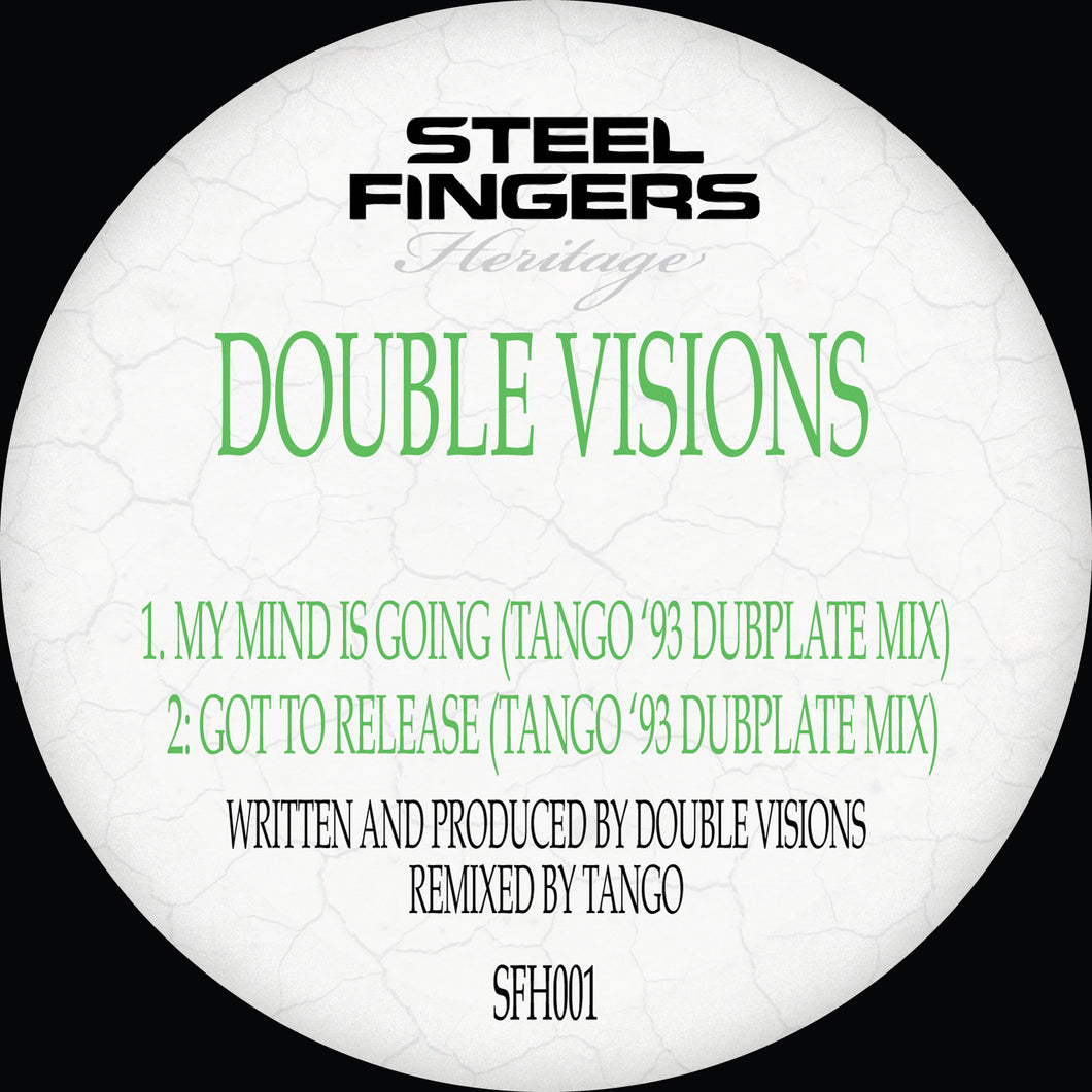 SFH001 Double Visions ('93 Dubplate Mixes) REPRESS RUN (12