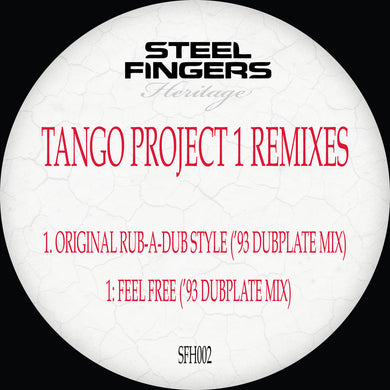 SFH002 Tango Project 1 ('93 Dubplate Mixes)  REPRESS RUN  (Bespoke Made To Order 12