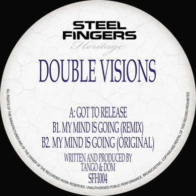 SFH004 Double Visions (Original Mixes) (Bespoke Made To Order 12