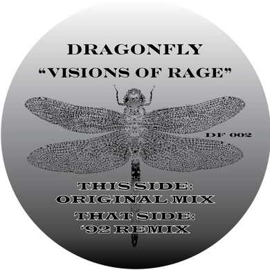 Dragon Fly - Visions of Rage (Bespoke Made To Order 12