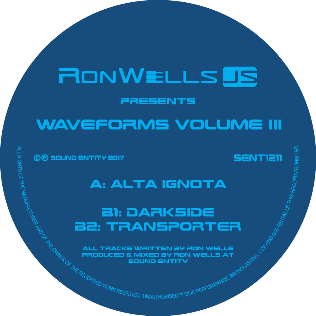 Waveforms Volume III EP (SENT1211) (12