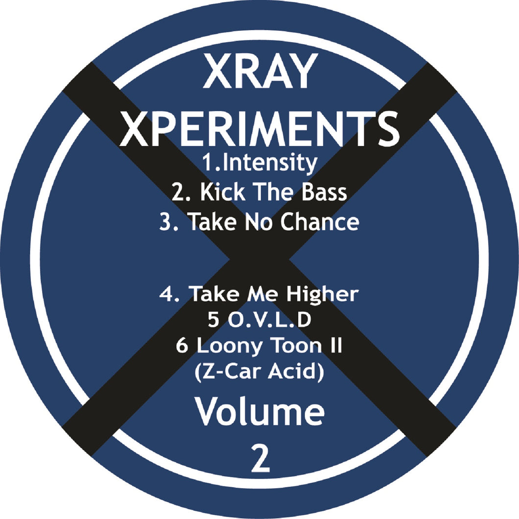 XRAY 003 A Side Vinyl Label