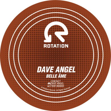 Dave Angel - Belle Ame / Let The Sun In (12