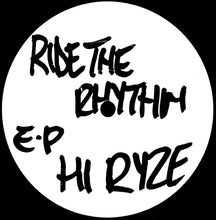 "HI RYZE - Ride The Rhythm EP 12"" Vinyl EP (12"" Vinyl)"